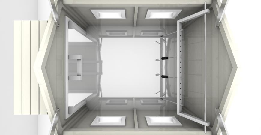Garage til robotplæneklippere